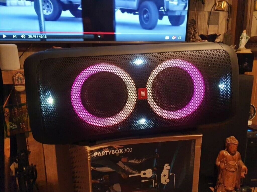 JBL PartyBox 300 Portable Bluetooth party speaker with light effects | in  Bishops Stortford, Hertfordshire | Gumtree