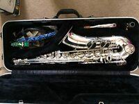 Trevor James Silver Plated Tenor Saxophone