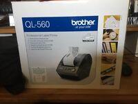 Brother QL-560 Professional Thermal Label Printer
