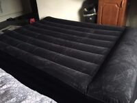 BESTWAY QUEEN SIZE AIR MATTRESS - LIKE NEW (USED ONLY ONCE)
