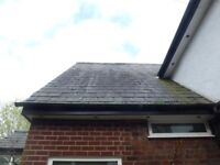 reclaimed roofing slates. with ridge tiles. all off the same roof 24x12 approx 1.000 250 each,