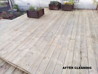 HANDYMAN - GUTTER CLEANING - DECKING, PATIO & DRIVE CLEANING - GENERAL MAINTENANCE