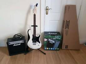 Yamaha Pacifica 120H Electric Guitar + Marshall 15w Amplifier Package !!SOLD!!