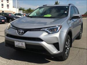 2016 Toyota RAV4 LE|AWD|ONE OWNER|LOW KM!