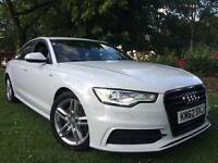 Audi A6 s line white 2.0 TDI 2013 automatic full servis history hpi clear p/x welcome