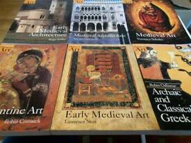 6 Oxford History of Art Books