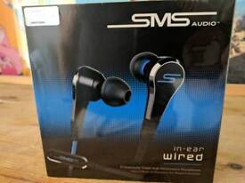 SMS 50 cent in ear headphones never used