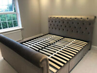 """Next """"Westcott Super King bed with 2 storage drawers"""""""