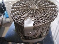 You and Me Wickerwork Hamper for Two