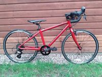 """Raleigh Performance 24"""" Junior/Children's Road Race Bicycle/Cyclocross Bike (outstanding condition!)"""