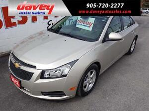 2013 Chevrolet Cruze LT Turbo LEATHER HEATED SEATS, REMOTE ST...