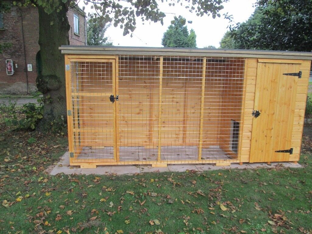 3ft x 3ft dog kennel with run in hull east yorkshire gumtree