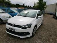 13 PLATE VW POLO R LINE. 1.2 PETROL. PX WELCOME