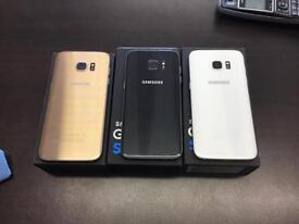 Samsung galaxy s7 edge 32gb unlocked very good condition with warranty and accessories gold