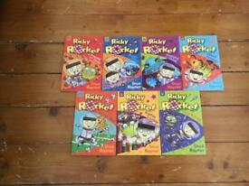 Ricky Rocket children's book bundle