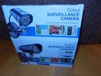 Security infrared led colour surveillance camera - only £10.00 (retail price is £19.99)