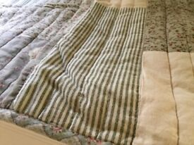 PATCHWORK QUILTED SINGLE BEDSPREAD