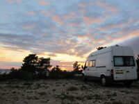 Trusty low mileage, Ford Transit campervan conversion (better value than VW campers)