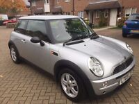 2003 MINI Hatch 1.6 One 3dr, Auto , Very Low Geniune Mileage ,FSH , Previous Lady owner, HPI Clear