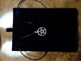 Pentangle Charm Necklace
