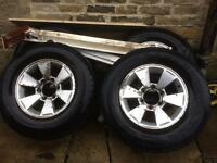 L200 wheels with legal Tyers
