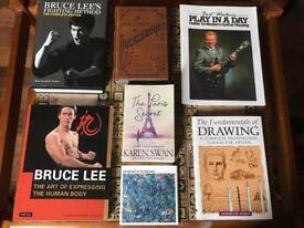 variety of books!