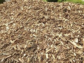 woodchip willow chipp mulch hardwood chip