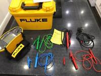 FLUKE 1652 Multi Tester - Calibration Certificate incl.
