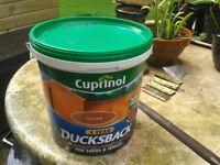 Cuprinol Ducksback - Autumn Gold 9L