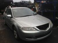 2004 Mazda 6 1.8 TS 4dr silver manual BREAKING FOR SPARES