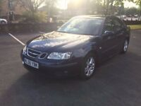 SAAB 9-3 1.8 PETROL 2006 56 REG LOTS OF EXTRAS HEATED CREAM LEATHER AIR CON ALLOYS VERY RELIABLE
