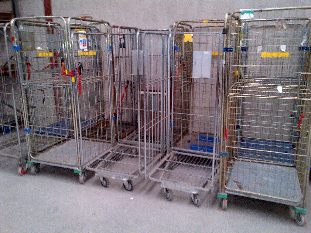 SHOP WAREHOUSE ROLL CAGE TROLLEYS | in Donaghadee, County Down | Gumtree