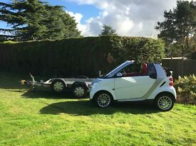 Smart FORTWO Cabrio & Tralier (ideal for Motorhomes)