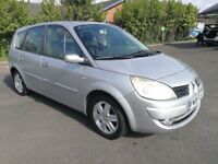 7 SEATER RENAULT GRAND SCENIC 1.6 MANUAL IN EXCELLENT CONDITION. 1 YEAR MOT. SERVICE HISTORY. 2 KEY