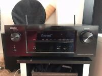 Denon AVR-X2200W home cinema receiver with Dolby Atmos, Bluetooth and Wi-Fi