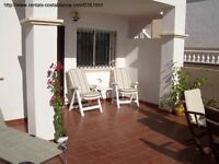 Costa Blanca, Spain. Ground floor apt, 2 bedroom, English TV, Wi-Fi, Sleeps 4. MAY = £225 (SM016)