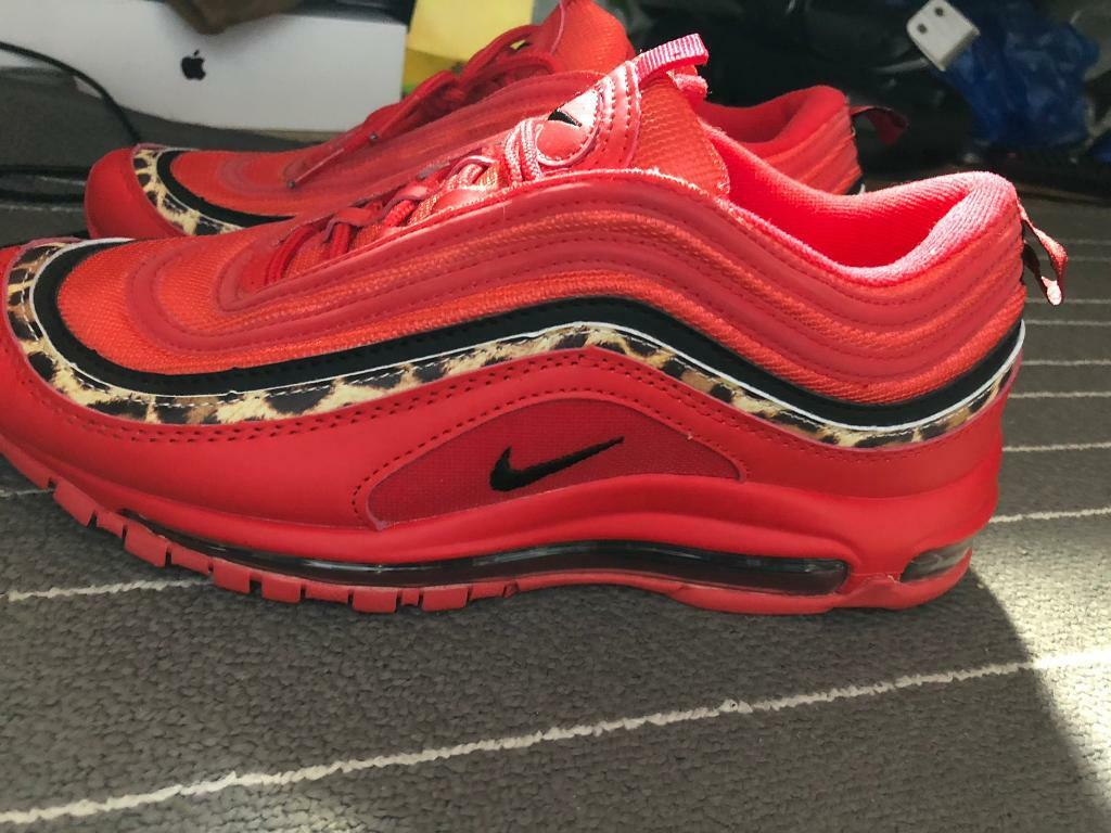 superior quality df862 9ea2f NEW - Red, Tiger skin yellow & Black Nike air max 97s Trainers (Men's UK  size 8.5UK) | in Barking, London | Gumtree