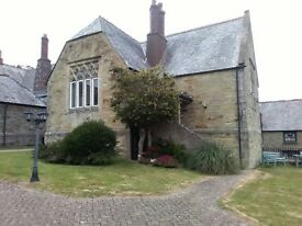 Character,Grade Listed Headmaster Wing in Old School.Spacious, Unique 2 Bed property/ St Agnes Cwall