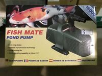 Fish Mate 16000 Pond Pump BNIB (3 available)