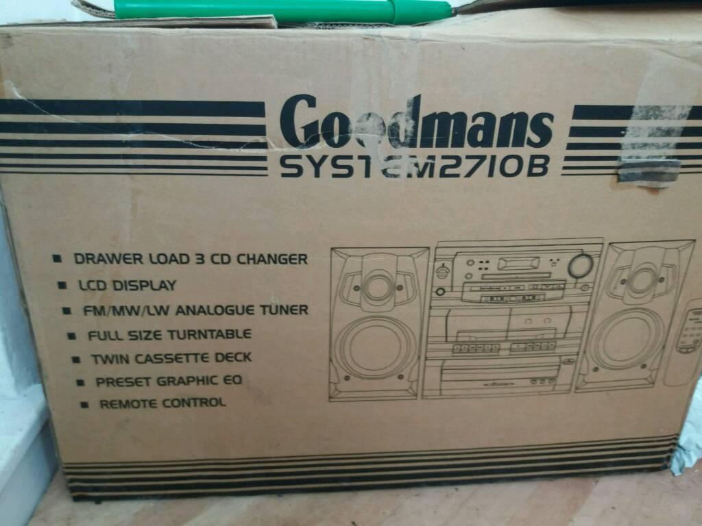 Goodmans system