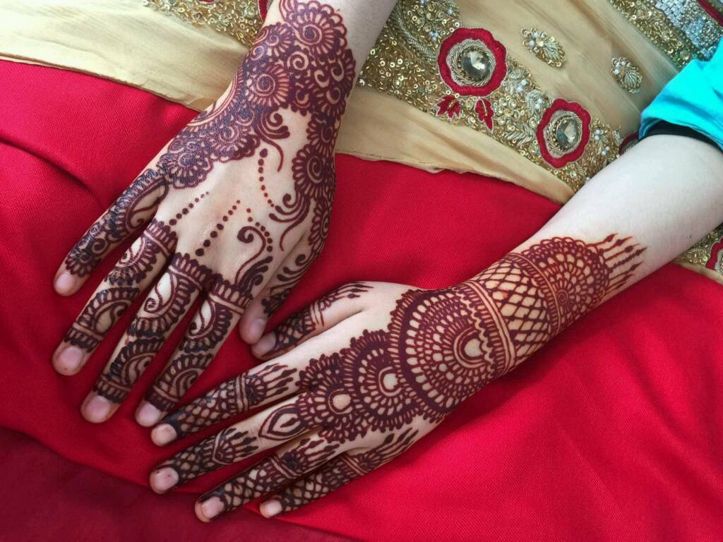 Mehndi Henna Black : Natural henna mehndi white tattoo black