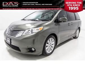 2011 Toyota Sienna XLE LEATHER/SUNROOF/7 PASS