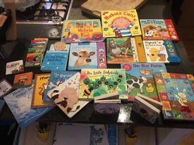 Big bundle of children's/ baby board books