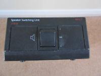 QED MA17 - 2 Way Speaker Switching Unit