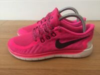 Nike Free 5.0 Womens Gym / Running Trainers Size 5 Great Condition