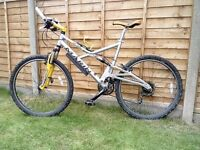 Marin Riftzone full suspension mountain bike