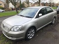 Toyota Avensis 2.0 D4D T4 MODEL - 100K - LOW MILEAGE - OWNED 9 YRS - EXCELLENT CONDITION