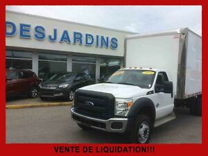 2014 Ford CHASSIS-CAB F550 2WD