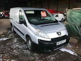 2009 Silver Pugeot Expert Hdi LWB van px welcome no vat