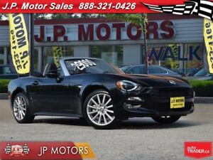 2017 Fiat 124 Spider Lusso, 000189km  Automatic, Leather, Conver